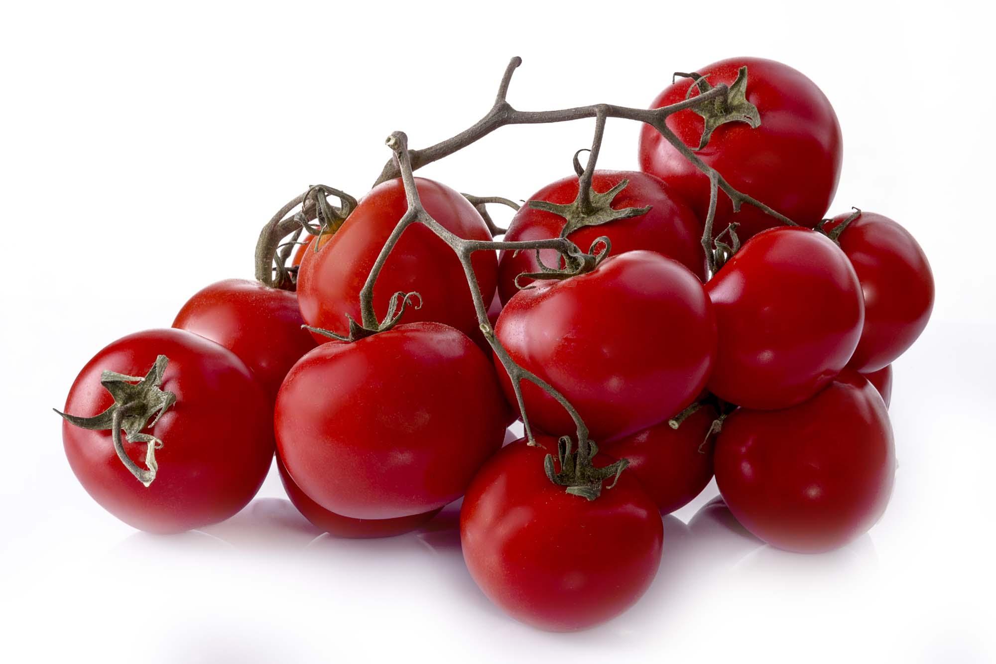 variedades de tomates con sabor: en rama