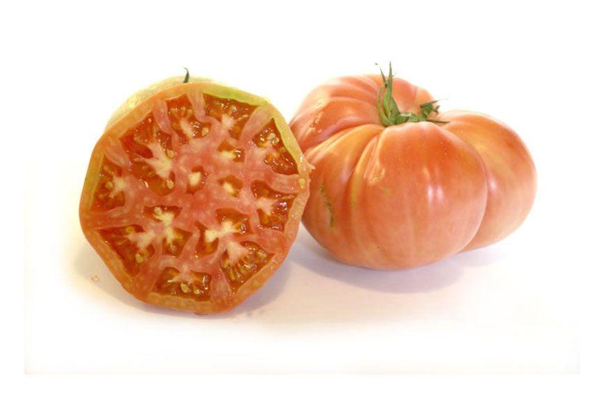 variedades de tomates con sabor: rosa