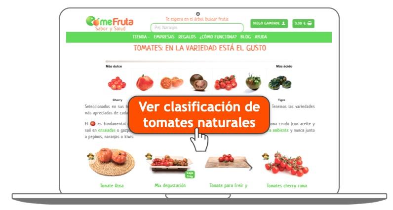 tomates frescos naturales