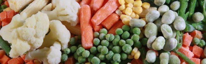 Congelar verduras