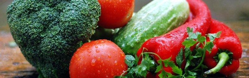 verduras de temporada en abril