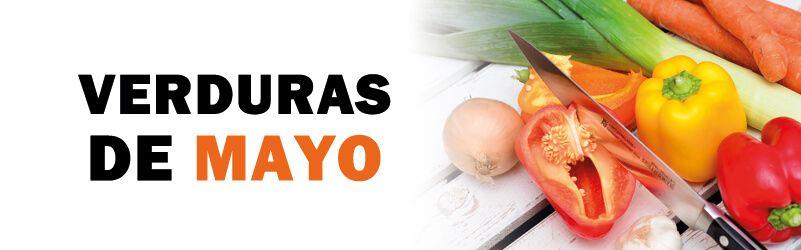 verduras de temporada de mayo