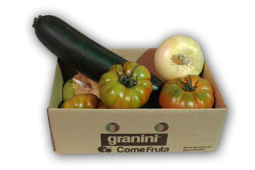 verduras de temporada variadas