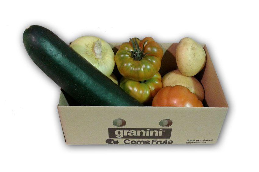 verduras variadas de temporada