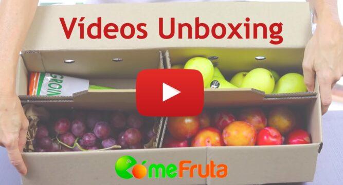 videos unboxing de clientes comefruta
