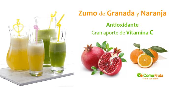 zumos y batidos de frutas