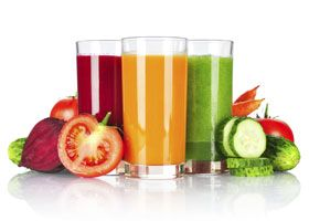 zumos de fruta 100% naturales